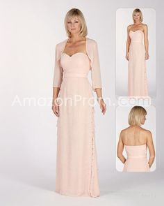 Gorgeous Ruffles Pleats A-Line Sweetheart Neckline Floor-length Mother of the Bride Dresses