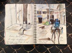 @Muriel Meynlé carnet de voyage Maroc 2015