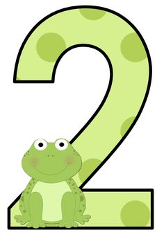 CH B *✿* NUMEROS DE KID SPARKZ Math Numbers, Alphabet And Numbers, Daycare Games, Birthday Clips, Abc For Kids, Frog And Toad, Polka Dots, Frogs, Clip Art