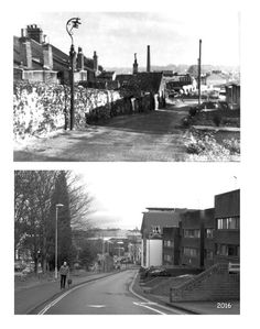 Wellington Lane Norwich before & after. Norwich Norfolk, Norfolk England, Uk Photos, Cool Pictures, Nostalgia, War, History, City, Places