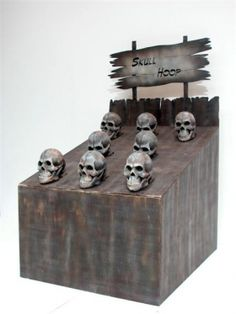 Skull hoopla game