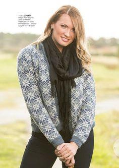 Ravelry: Idunnkofta pattern by Turid Stapnes Lervik Fair Isle Knitting, Knitting Yarn, Hand Knitting, Knitting Patterns, Knitting Sweaters, Knit Jacket, Sweater Jacket, Cardigan Pattern, Knit Cardigan