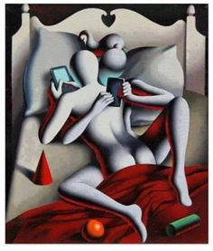 Sexting 20 Satirical Illustrations Show Our Addiction To Technology Art And Illustration, Satire, Psychedelic Art, Mark Kostabi, Technology Addiction, Satirical Illustrations, Show Us, Will Turner, Thought Provoking