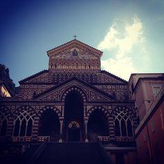 Il Duomo di #Amalfi [Segui i nostri spostamenti su #Instagram: http://instagram.com/allyoucanitaly]
