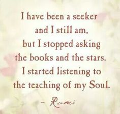 Quote inspiration Rumi