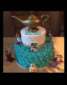 """Handcrafted """"Jasmine"""" or ANY Themed Birthday Candles- Decorated To Your Liking Jasmine Birthday Cake, Aladdin Birthday Party, Aladdin Party, 4th Birthday Parties, Princess Birthday, 5th Birthday, Birthday Ideas, Princess Jasmine Cake, Aladdin Et Jasmine"""