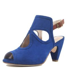 Look what I found on #zulily! Blue Laura Sandal by Chelsea Crew #zulilyfinds
