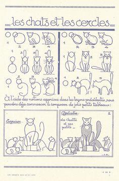 les chats et les cercles