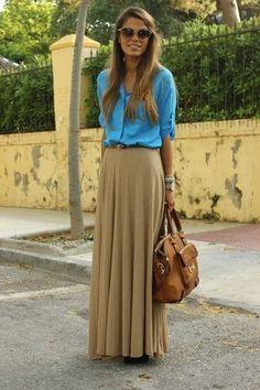 I love those colours together.