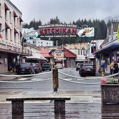 Town of Ketchikan in AK