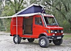 Camper van really really like this!!! And it's red!!! Love it