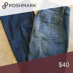 🆕 Men's Joe's Jeans Over all excellent condition. There is minor wear at the back of the hems. These are a thinner material.  Design # WC15790 Cut# J00548  98% Cotton/ 2% Lycra Very slight stretch at waist and in the body  Waist measures 17 3/4 inches Inseam measures 33 inches Width of hem 9 3/4 inches Rise 9 1/2 inches  ⛔Please make offers thru the OFFER TAB ONLY. I DO NOT negotiate on the listing.⛔  ❌No trades ❌No modeling ❌No holds 68 Joes Jeans Bootcut
