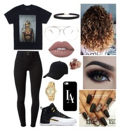 """""""Do it like a brother"""" by leilani14 on Polyvore featuring J Brand, Lime Crime, Casetify, Humble Chic, Freddie Grove, Keds and Michael Kors"""