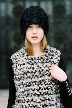 Vanessa Jackman: Paris Fashion Week AW 2012....Jemma