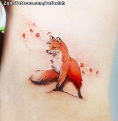 Fox Tattoo, Tiere - Suzy's Fashion - Fox Tattoo, Tiere – You are in the right place about Fox Tattoo, Tiere – Suz - Mini Tattoos, Sexy Tattoos, Unique Tattoos, Beautiful Tattoos, Black Tattoos, Body Art Tattoos, Tattos, Kleiner Fuchs Tattoo, Herbst Tattoo