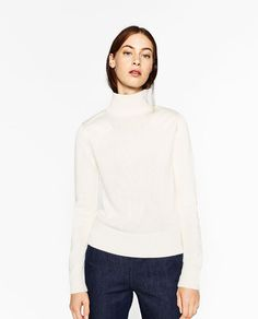 Image 2 of PATCH SWEATER from Zara