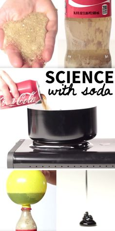 These easy science experiments for kids use one magic ingredient - soda!