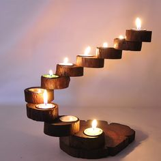 Cheap wood candlestick, Buy Quality candlestick directly from China candlesticks wooden Suppliers: Creative personality  handmade wooden candlesticks/ Southeast Asia wood long table Candlestick/ multilayer Candlestick