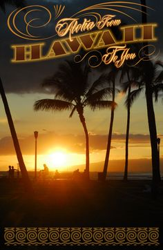 """Aloha from Waikiki"" I remember this place... magic Island..."