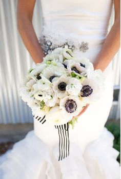 Anemones and Stripes.  @Anne · Eagle Egg Creative