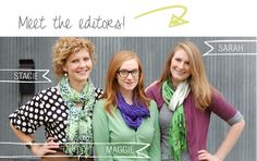 The Scarf Knot Library... 50+ ways to tie a scarf with clear, easy instructions!
