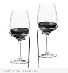 Set of 2 Wine Glass Stake Holders – Perfect for Beach or Lawns – Sticks Into Ground