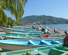 Deep sea fishing, shopping and pedicure in Zihuatanejo, Mexico.