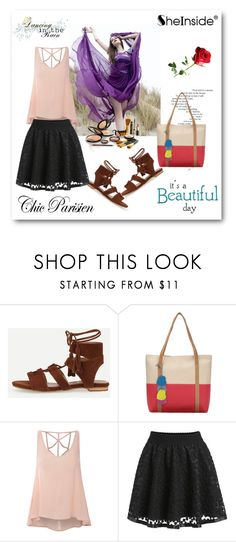 """""""shein 2"""" by aida-1999 ❤ liked on Polyvore featuring Finders Keepers and Glamorous"""