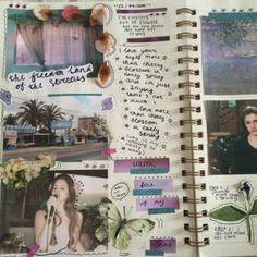 Online Bullet Journal, Bullet Journal Inspo, Journal Diary, Journal Pages, Journal Aesthetic, Book Aesthetic, Retro Poster, Art Diary, Scrapbook Journal