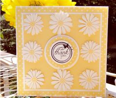 """Daisied Up"" Thank you! by jasonw1 - Cards and Paper Crafts at Splitcoaststampers"