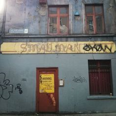 Smallman ghost sign, Dublin