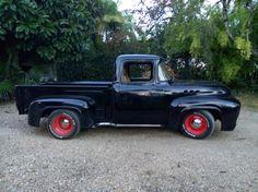 1956 Ford Truck, F100 Truck, Ford Trucks, 1956 F100, Monster Trucks, Window, Big, Vintage Cars, Windows