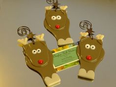 Reindeer Ornament Fused Glass by chneos on Etsy