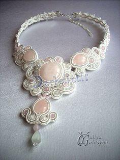 imperial #soutache #necklace