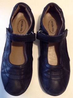 Girls Shoes Sz 2 1 2 Stride Rite 034 Claire 034 Mary Jane Black Leather Uniform School | eBay