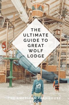 The BEST guide and tips to making your first trip to Great Wolf Lodge the best! Farmhouse Style Kitchen, Farmhouse Bathrooms, Farmhouse Decor, Great Wolf Lodge, American Farmhouse, Family Travel, Family Trips, Lodges, Activities For Kids