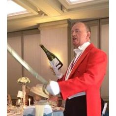 I Will Teach the Groom or Father of the Bride 'Sabrage' Castle Hotel & Country Club Father Of The Bride, Sheffield, Wedding Mc, Groom, Cave, Country, Rural Area, Grooms, Country Music