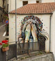 by Alice in Campobasso, Italy   urban art   grafite   mural   graffiti   Street art   art   MINI   Miniac   Mini lifestyle   Schomp Mini