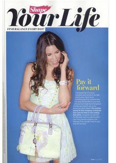 Shape Magazine - Pay It Forward has a reach!