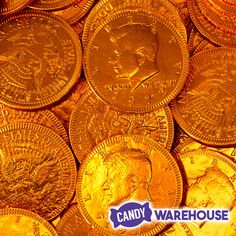 These were so cool as a kid—Orange Foiled Milk Chocolate Coins Coconut Hot Chocolate, Chocolate Orange, Melting Chocolate, Chocolate Coins, Chocolate Squares, Orange Candy, Fort Knox, Vegetarian Chocolate, Clean Eating Snacks