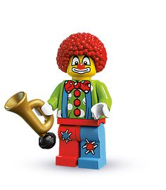 Who wouldn't like a Clown. LEGO Minifigures Series 1-10