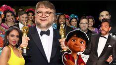 México reina en la edición más latina de los Oscar Guillermo Del Toro 'Coco' y hasta 'Bésame mucho' - Univision