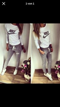 64 Ideas For Sport Wear Mens Nike Shoes Outlet Nike Outfits, Sport Outfits, Casual Outfits, Casual Clothes, Nike Clothes, Teen Outfits, Casual Suit, Comfortable Clothes, Womens Workout Outfits