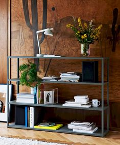 Customise HAY's shelves & modular shelving systems to make a single shelf in your bedroom or whole wall in your living room/office. Browse HAY shelves here. Modular Shelving, Shelving Systems, Danish Furniture, Modular Furniture, Furniture Ideas, Berlin Design, Hay Design, Extension Designs, Metal Shelves