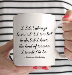 The Kind of Woman Mug Coffee Mug Boss Girl Boss by prettychicsf
