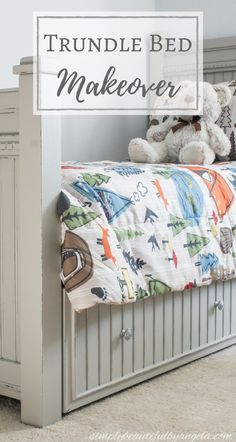 Simply Beautiful by Angela: Trundle Bed Makeover