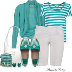 Turquoise Stripes