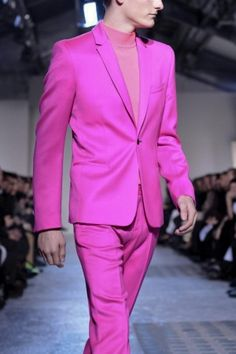 Mugler PINK!  Would your man wear this?