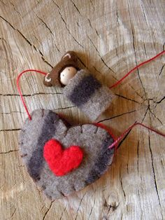 This sweet little Valentine Bear Necklace would be a lovely gift to a special child in your life. Whether for Valentines Day, birthday or just to