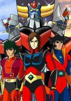 Grendizer - Getter Robo G - Great Mazinger Kessen! 80s Cartoon Shows, Robot Cartoon, Japanese Robot, Japanese Cartoon, Koji Kabuto, Gundam, Super Robot Taisen, Days Anime, Japanese Superheroes